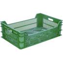Ящик п/э 600х400х200 цв. зелёный