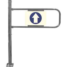Входной турникет механический левый (с функцией антипаника)